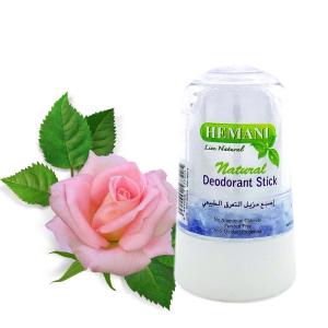 дезодорант кристалл Алунит с экстрактом Розы Hemani, 70 гр.