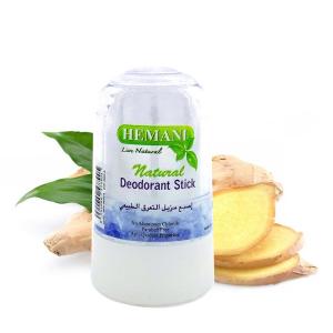 дезодорант кристалл Алунит с экстрактом Куркумы Hemani, 70 гр