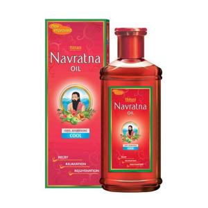 Масло для массажа тела и головы Навратна Хемани (Navratna Oil Hemani), 50 мл
