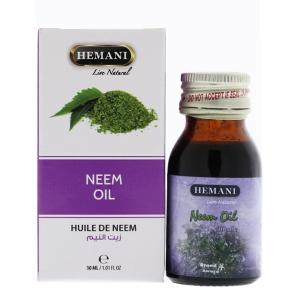 масло Нима Хемани (Neem Oil Hemani), 30 мл