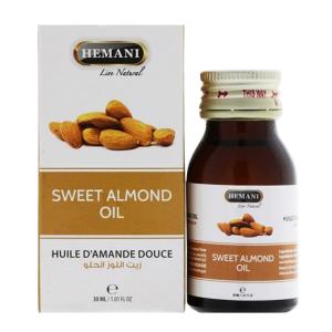 Масло сладкого Миндаля Хемани (Sweet Almond Oil Hemani), 30 мл.