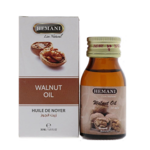 Масло Грецкого ореха Хемани (Walnut Oil Hemani), 30 мл.
