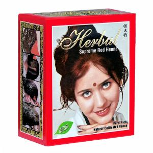 хна для волос Herbul Суприм Ред, 6 х 10 гр.