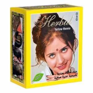 хна для волос Herbul цвет золотой, 6 х 10 гр.