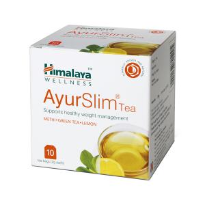 Чай для похудения АюрСлим Гималаи (AyurSlim Himalaya), 10 пакетиков