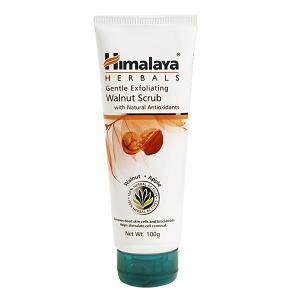 средство для умывания Himalaya Herbals мягкий отшелушивающий скраб с грецким орехом, 100 мл.