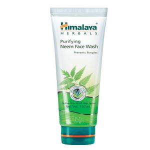 средство для умывания Himalaya Herbals (для проблемной кожи) очищающий гель с Нимом, 100 мл.