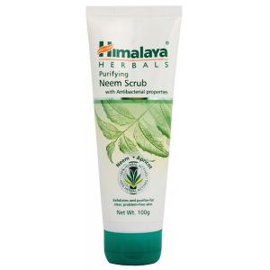 средство для умывания Himalaya Herbals антибактериальный скраб с нимом, 100 мл.