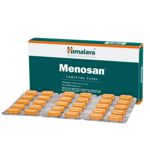 Меносан Хималая Хербалс (Menosan Himalaya Herbals), 60 таблеток