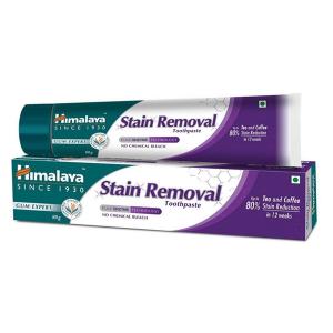 отбеливающая зубная паста Хималая (Stain Removal Toothpaste Himalaya), 80 гр
