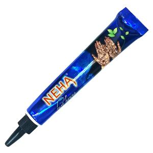 хна для мехенди в тубе Neha, цвет чёрный, 25 гр