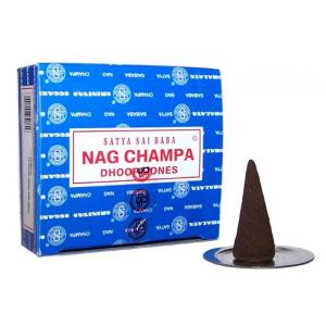 благовоние в форме конусов Satya Sai Baba Наг Чампа