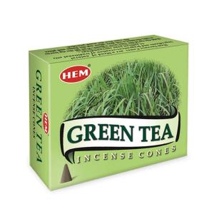 благовоние в форме конусов Hem Зелёный Чай