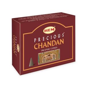 благовоние в форме конусов Hem Драгоценный Чандан