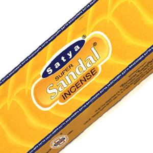 ароматические палочки Супер Сандал Сатья (Satya Super Sandal), 90 гр.