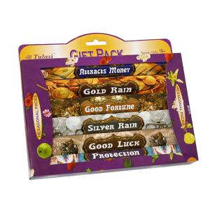 набор ароматических палочек Tulasi Успех (Success Gift Pack), 6 шт. в наборе