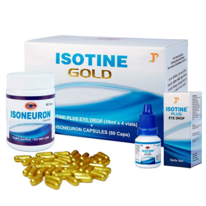 комплекс для глаз Айсотин Голд (Isotine Gold Jagat Pharma)
