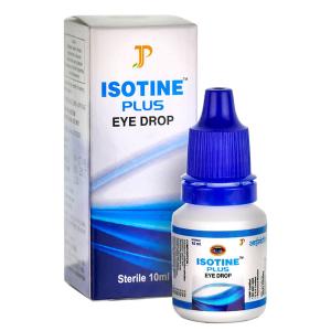 глазные капли Айсотин Плюс (Isotine Plus Jagat Pharma), 10 мл.