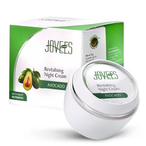 крем для лица ночной восстанавливающий с авокадо Jovees, 50 гр.