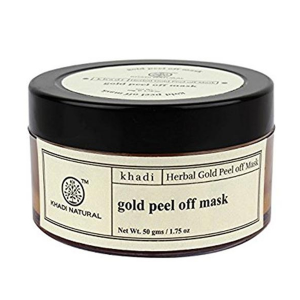 Пленочная маска-пилинг для лица Кхади Голд (Gold peel off mask, Khadi), 50 гр.