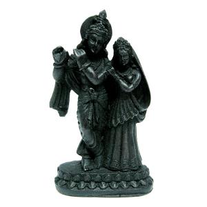статуэтка Кришна и Радха