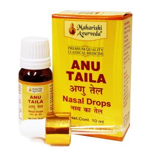 капли в нос Ану Тайла Махариши Аюрведа (Anu Taila Maharishi Ayurveda), 10 мл.