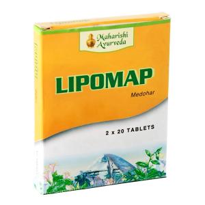 снижение уровня холестирина Липомап Махариши Аюрведа (Lipomap Maharishi Ayurveda), 40 таблеток