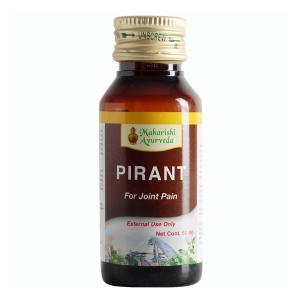 лечебное масло для суставов Пирант (Pirant Oil Maharishi Ayurveda), 50 мл.