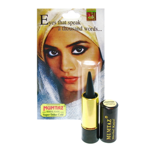 карандаш для глаз Каджал Khojati Mumtaz чёрный цвет, 1,5 гр.