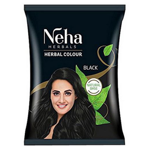 хна для волос Неха Чёрная (Neha Henna Black), 20 гр.