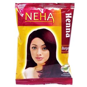 хна для волос Неха Бургунди (Neha Henna Burgundy), 20 гр.