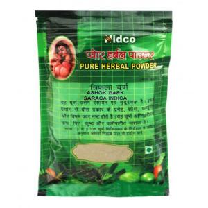 при нарушении менструального цикла Ашок Чурна (Ashok Churna, Nidco), 50 гр