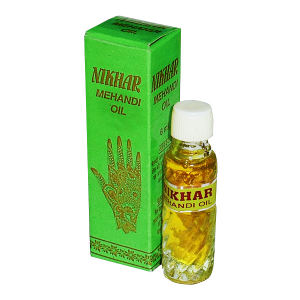 Масло для мехенди (mehandi oil), 6 мл.