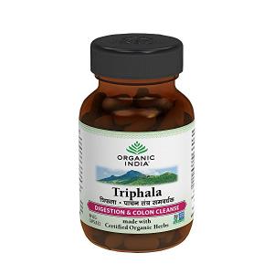 от запоров Трифала Органик Индия (Triphala Organic India), 60 капсул