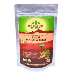 Чай органический из Тулси с Масалой Organic India, 100 грамм