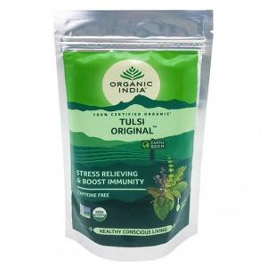 Чай органический из Тулси Оригинальный Organic India, 100 грамм