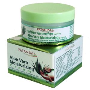 увлажняющий крем для лица Алоэ Вера Патанджали (Moisturizer Cream Patanjali), 50 мл