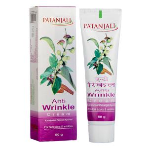 крем омолаживающий против морщин Патанджали (Anti Wrinkle Cream Patanjali), 50 гр.