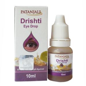 глазные капли Дришти Патанджали (Drishti Patanjali), 10 мл.