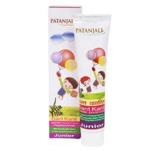 зубная паста Патанджали Дант Канти для детей (Patanjali Dant Kanti Junior), 100 гр.