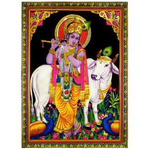 полотно Шри Кришна