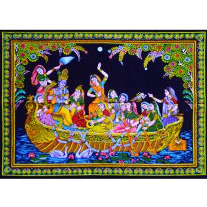 полотно Кришна-Гопиприяджана