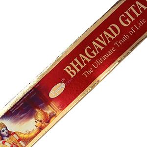 масальные ароматические палочки Бхагават Гита (Bhagavad Gita Ppure), 15 гр.