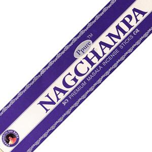 масальные ароматические палочки Нагчампа (Nagchampa Ppure), 15 гр.