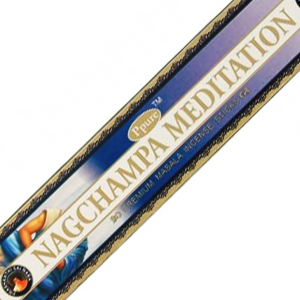 масальные ароматические палочки Медитация (Nagchampa Meditation Ppure), 15 гр.