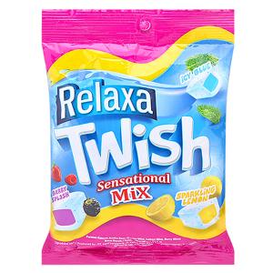 Конфеты фруктовые жевательные Twish Relaxa, 126 грамм