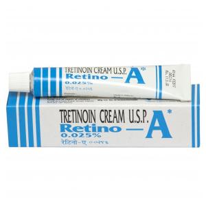 Омолаживающий крем Ретино-А Третиноин, 0,025% (Retino-A Tretinoin Cream U.S.P.), 20 гр.