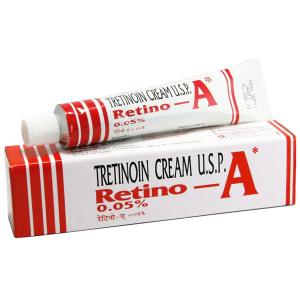 Омолаживающий крем Ретино-А Третиноин, 0,05% (Retino-A Tretinoin Cream U.S.P.), 20 гр.