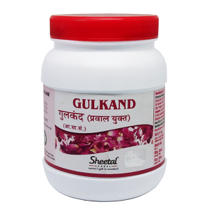 Гульканд пресервы из лепестков роз (Gulkand Sheetal Herbal), 500 гр