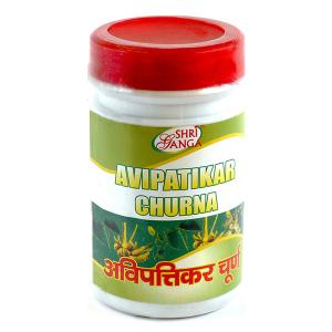 средство от изжоги и гастрита Авипаттикар Чурна Шри Ганга (Avipattikar Churna Shri Ganga), 100 гр